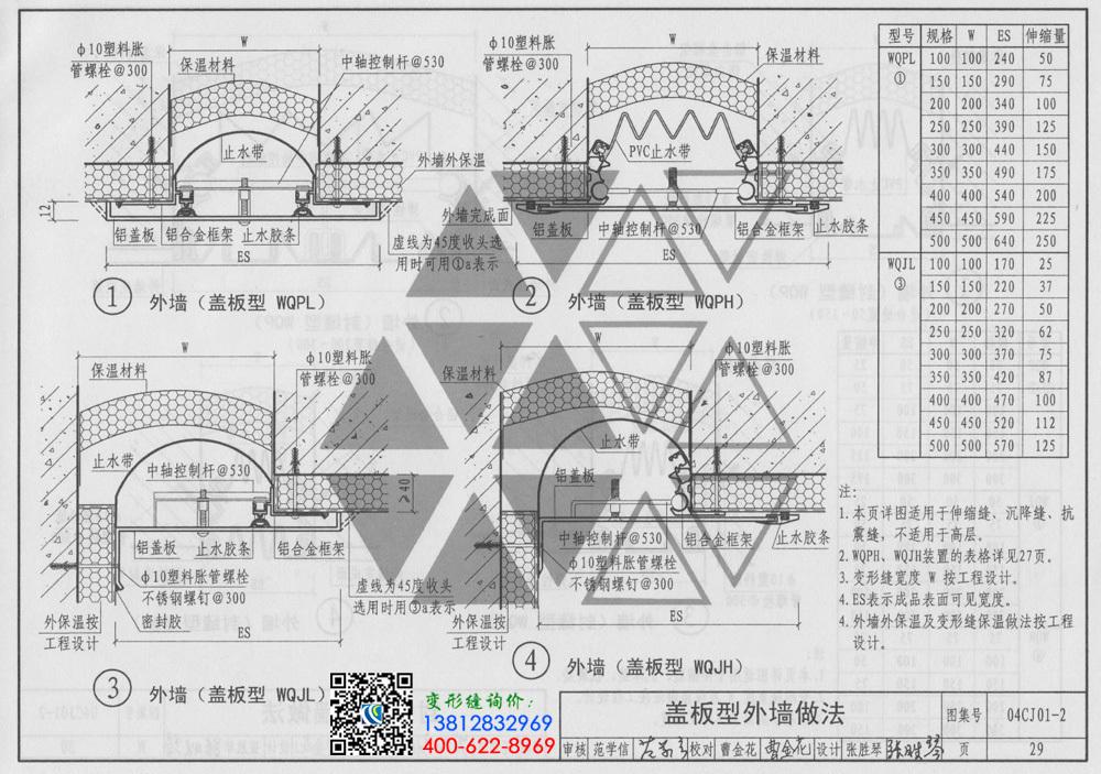 国标 04cj01 2图集-盖板型外墙做法