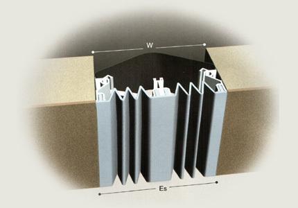 橡胶嵌平型变形缝4