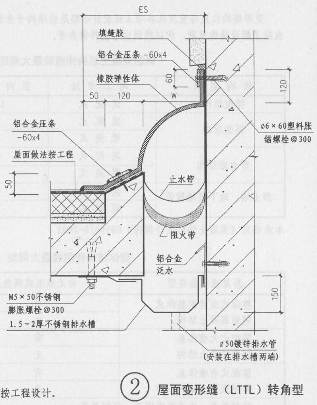 屋面变形缝图集LTTL