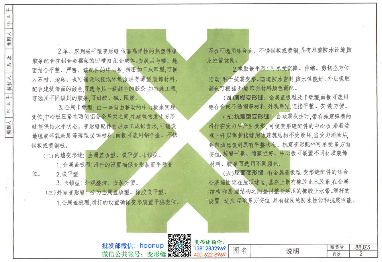 88JZ3变形缝图集第2页