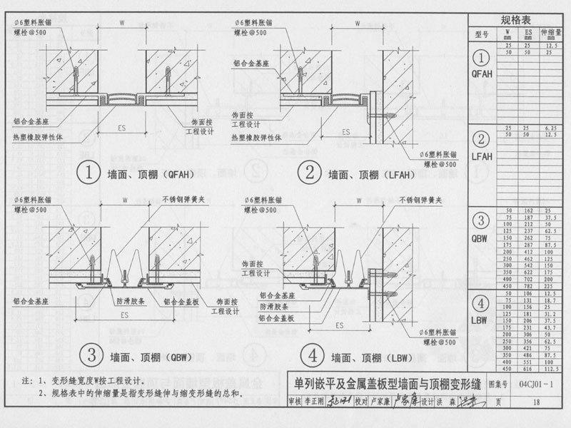 内墙变形缝图集图文说明3