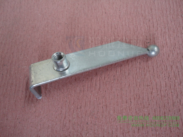 变形缝转角弹珠滑杆