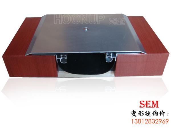 外墙变形缝 金属盖板型 平面 SEM
